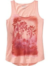 Women's Photo-Graphic Tanks