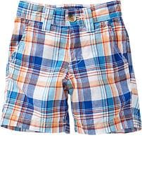 Plaid Madras Shorts for Baby