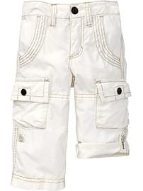 Lightweight Roll-Up Cargos for Baby