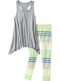 Girls Jersey Tank & Legging Sets