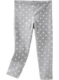 Girls Printed Capri Leggings