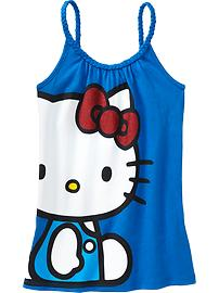 Girls Braided-Strap Hello Kitty&#174 Tanks