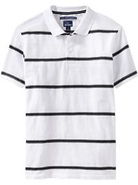 Men's Moisture-Wicking Pique Polos