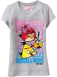 Girls Angry Birds Space&#153 Tees