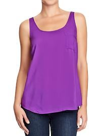 Women's Lightweight Pocket Tanks