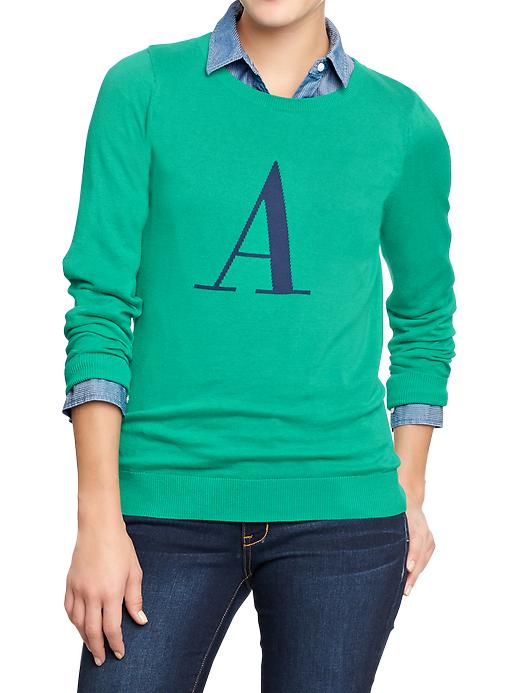 Old Navy Womens Pop Color Crew Neck Sweaters - Dreamy green