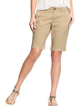 Women'S Skinny Bermudas - 10 inch inseam