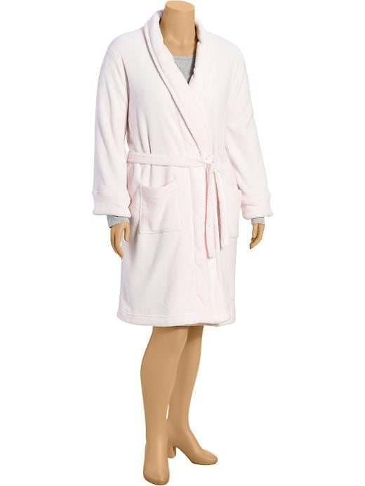 Old Navy Womens Plus Cozy Robes - Light pink