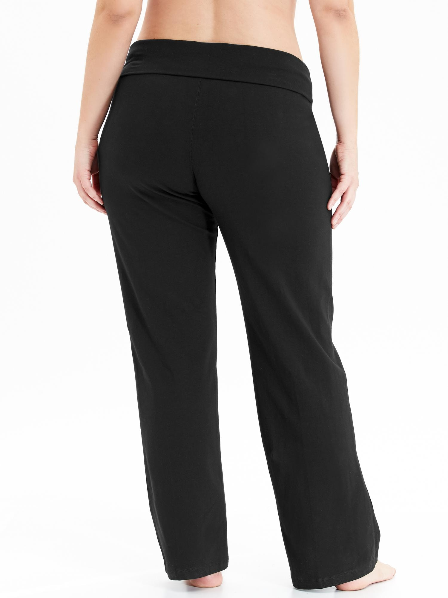 Go-Dry Plus-Size Yoga Pants | Old Navy