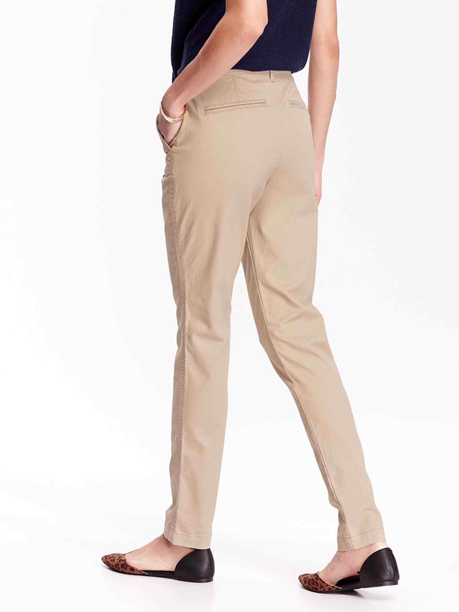 Mid-Rise Skinny Khakis for Women | Old Navy