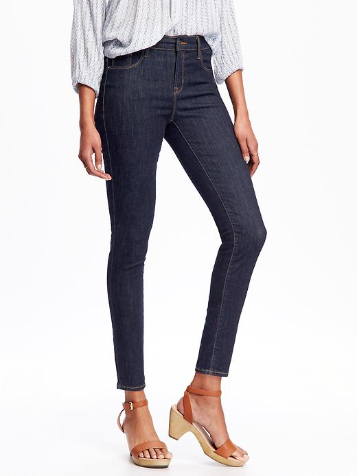 Mid-Rise Built-In Sculpt Rockstar Jeans for Women