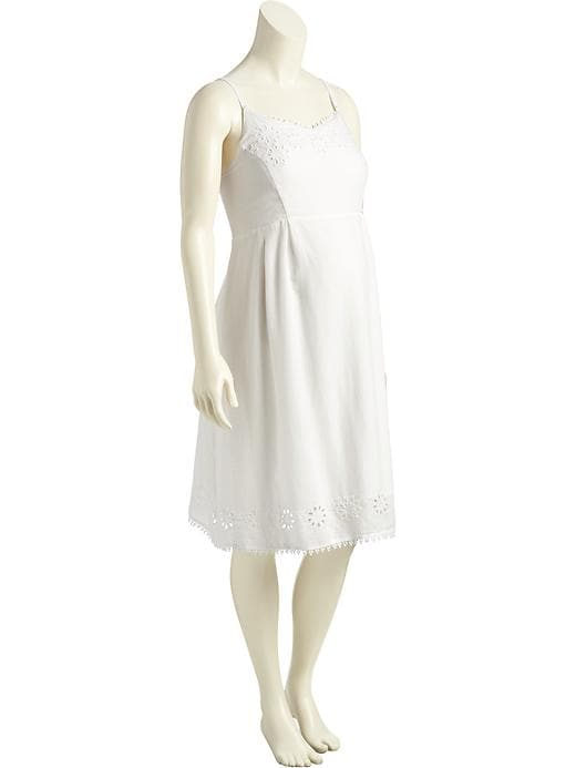 Old Navy Maternity Eyelet Cami Dress Size XS - White plus size,  plus size fashion plus size appare