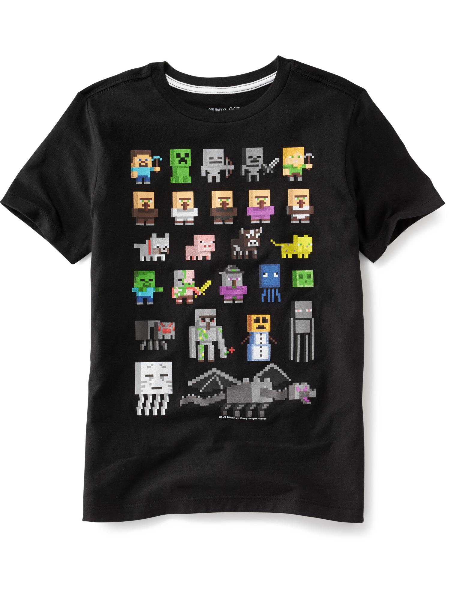 d2654c0f Minecraft™ Graphic Tee for Boys | Old Navy