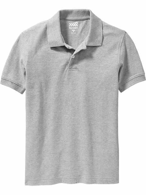 Pique Uniform Polo for Boys