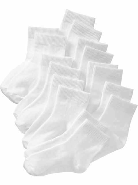 Crew Socks 8-Pack For Toddler & Baby