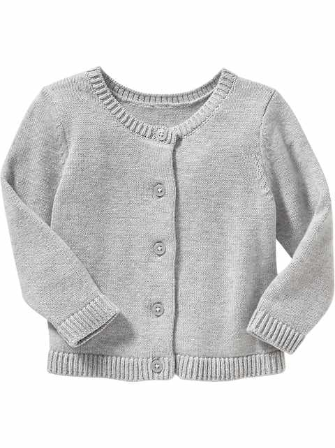 Classic Cardi for Toddler Girls