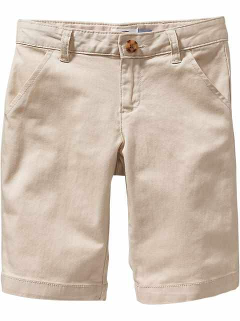 Uniform Bermudas for Girls