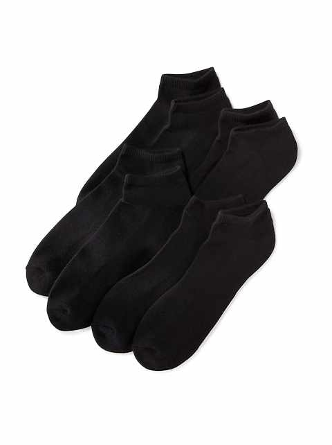Low-Cut Socks 4-Pack for Men