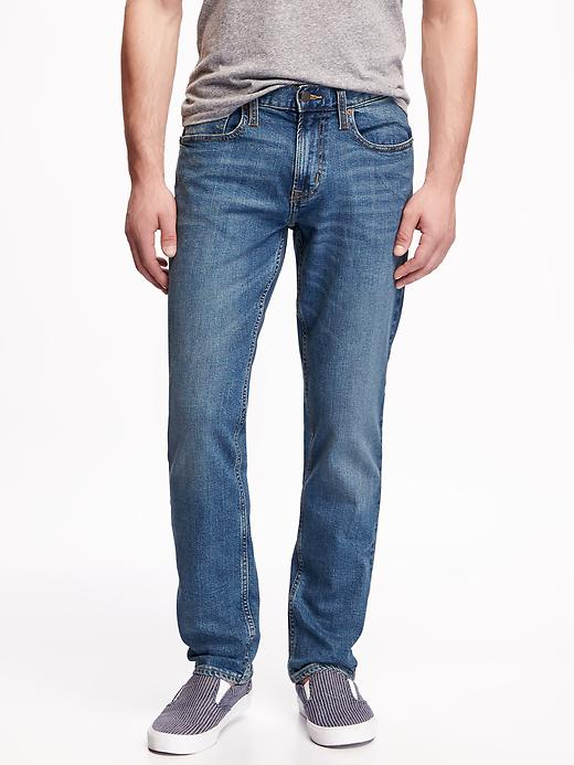 Old Navy Mens Slim Built-In-Flex Jeans For Men