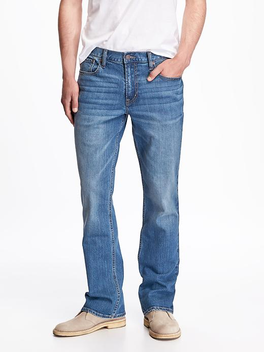Straight Built-In Flex Jeans