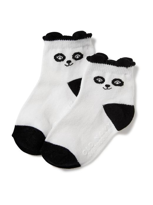 Non-Skid Crew Socks for Baby | Old Navy