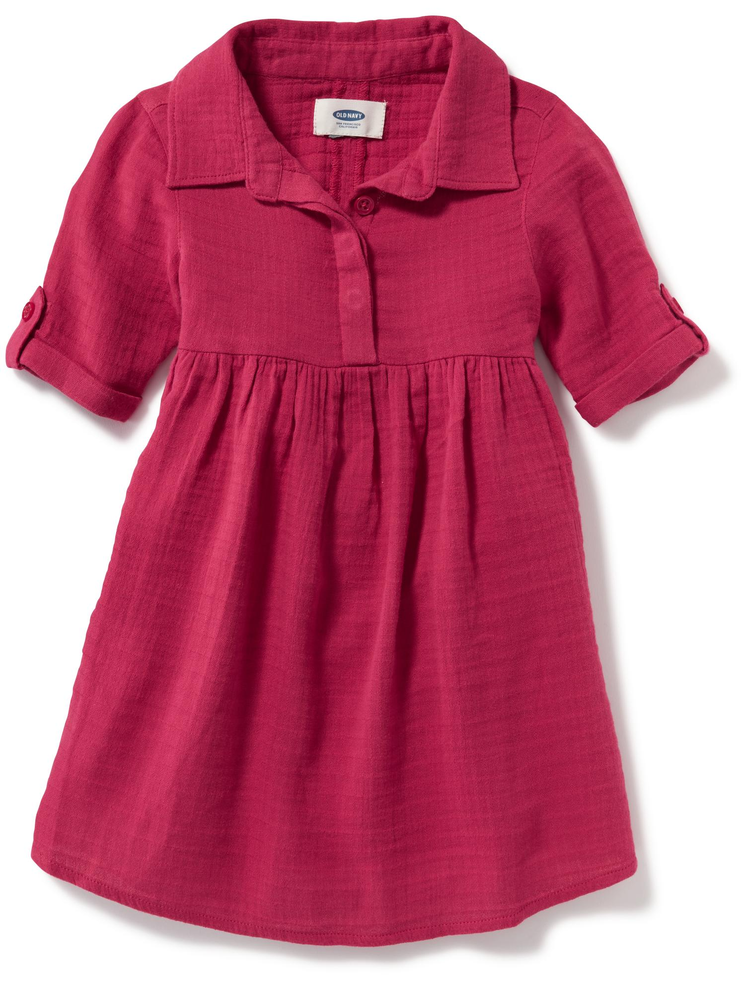 Dobby Swing Dress for Toddler | Old Navy