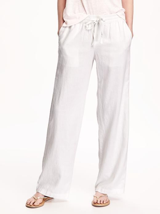 Soft Mid Rise Wide Leg Pants For Women