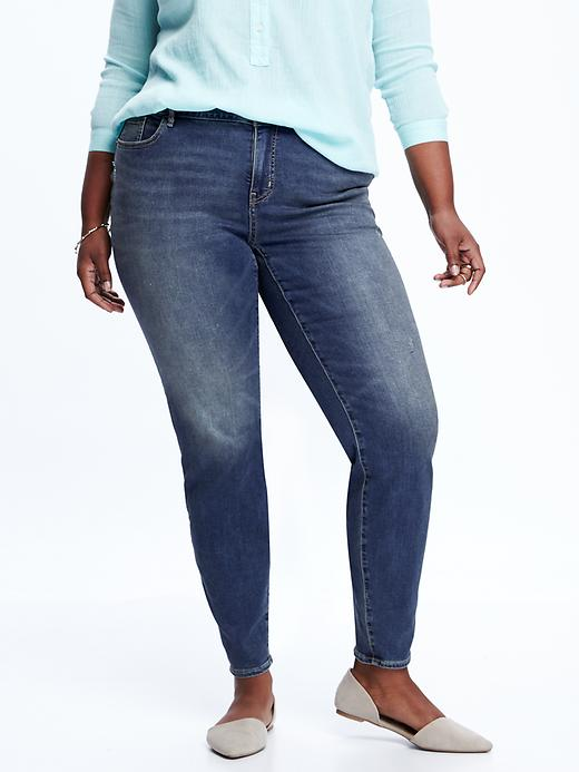 Old Navy Smooth & Slim High Rise Plus Size Skinny Rockstar Jeans Size 16 Long Plus - Presidio