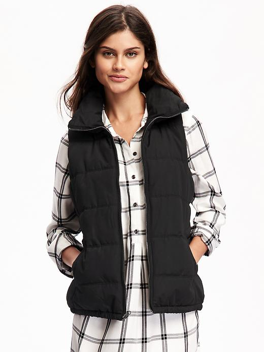 Quilted Womens Frost-Free Vest (Multi Colors)