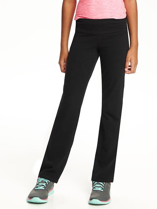 Jersey Yoga Pants For Girls Old Navy