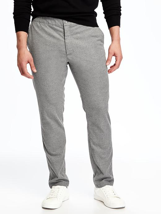 Built-In Flex Slim Tapered-Leg Pants for Men