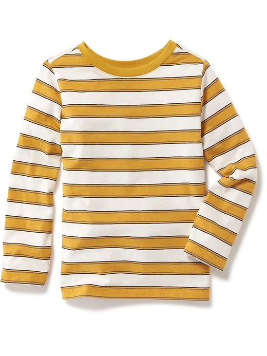 Striped Crew-Neck Tee for Toddler