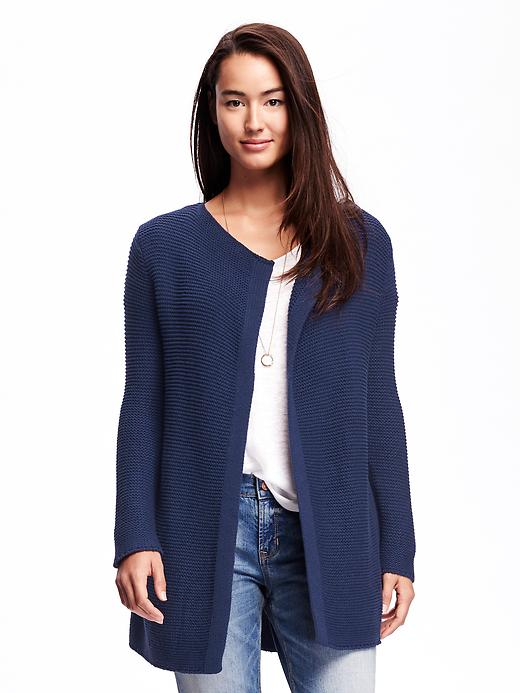Old Navy Relaxed Open Front Textured Cardi For Women Size L - Goodnight nora