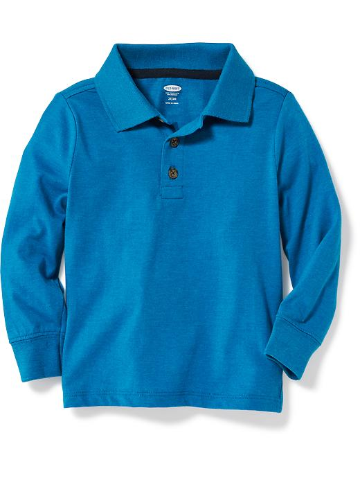 Long-Sleeve Polo for Toddler