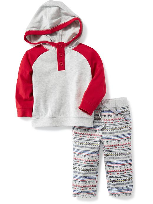 2-Piece Hoodie and Leggings Set for Baby