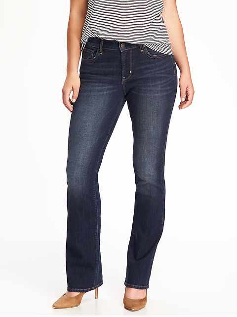 Curvy Boot-Cut Jeans for Women