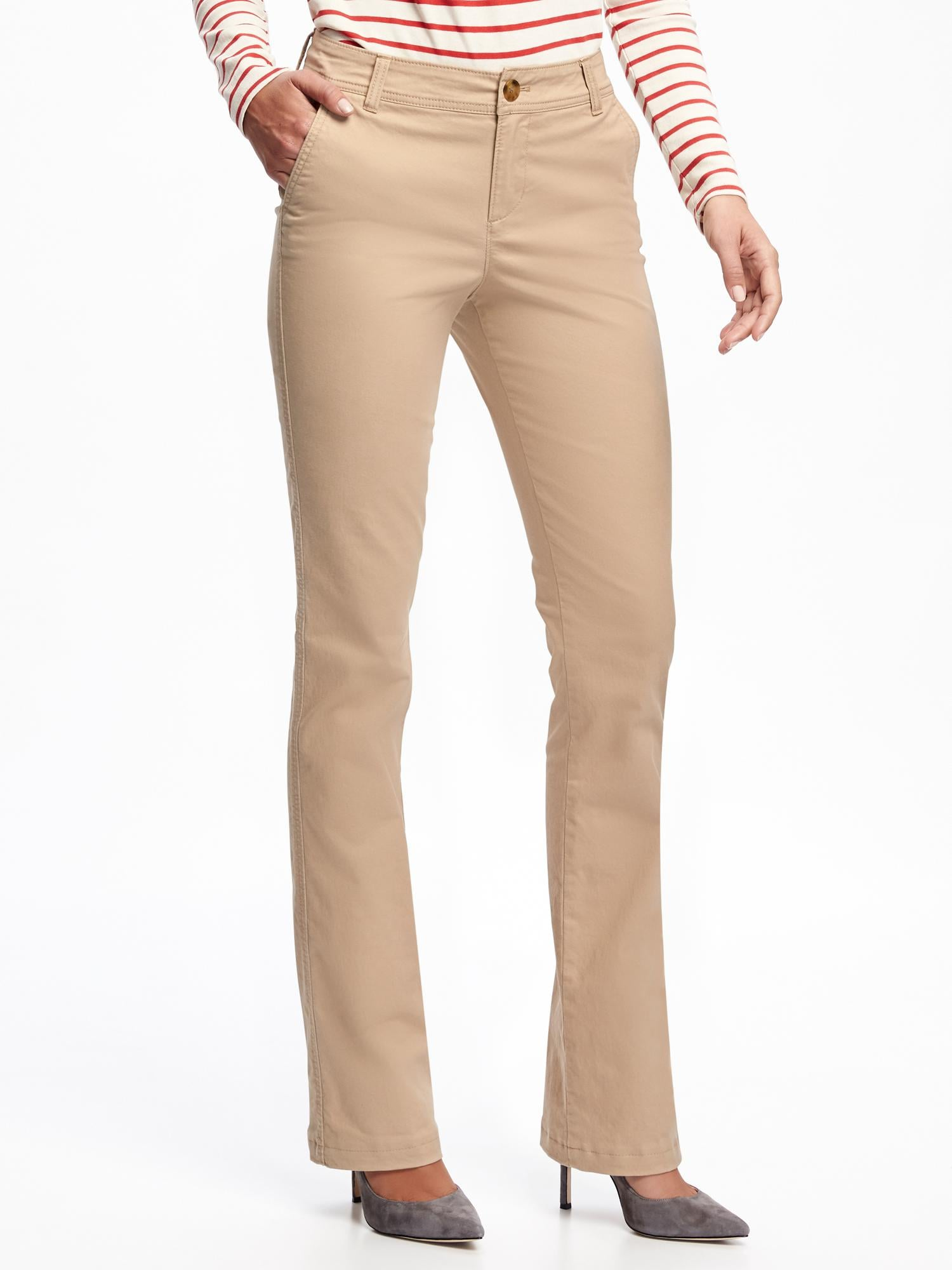 Gap boot cut khakis