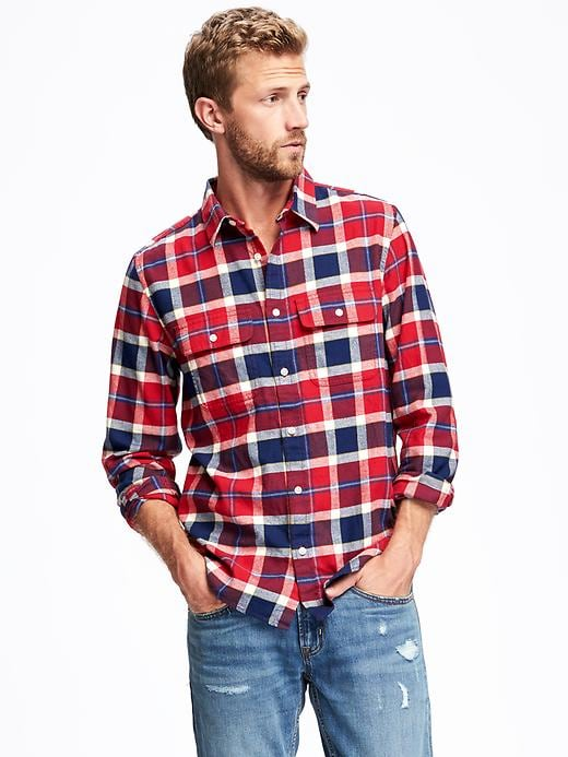 Old Navy Regular-Fit Pocket Shirt