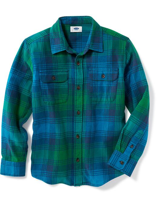 Plaid Flannel Shirt for Boys