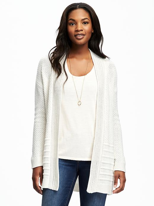Old Navy Open Front Textured Cardi For Women Size L - Careless whisper