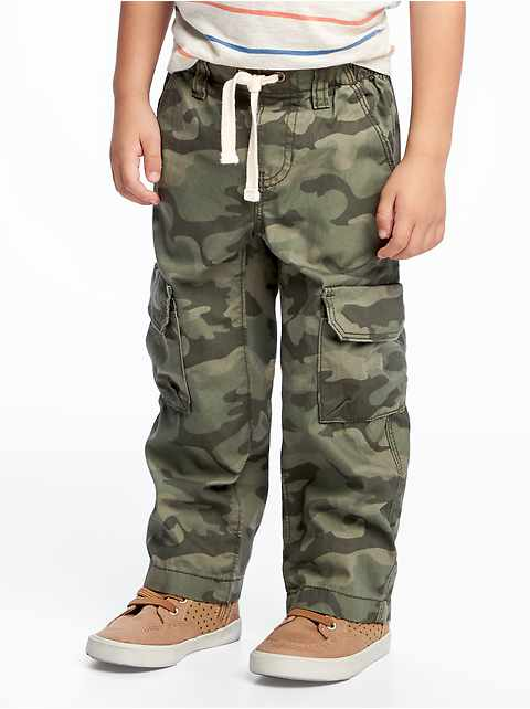 Pull-On Cargo Pants for Toddler Boys e5b50b3530