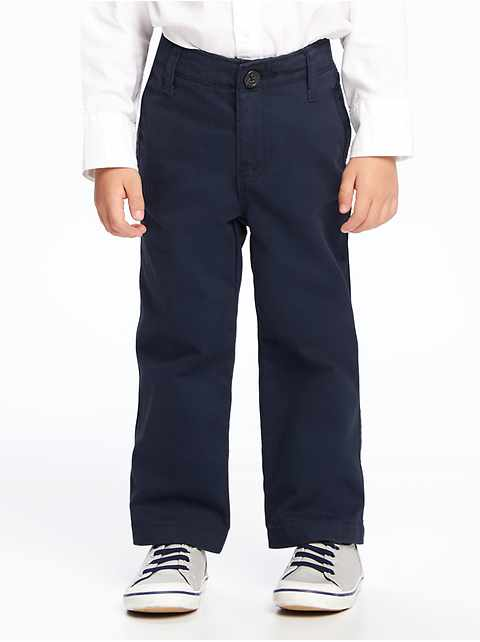 Twill Uniform Khakis for Toddler Boys