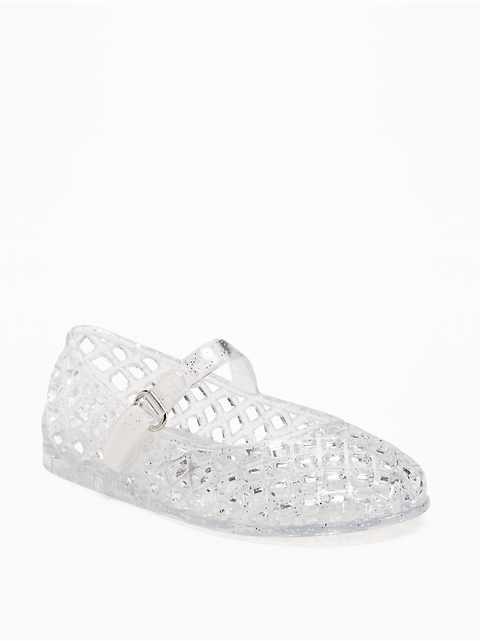 Mary-Jane Jelly Sandals for Toddler Girls