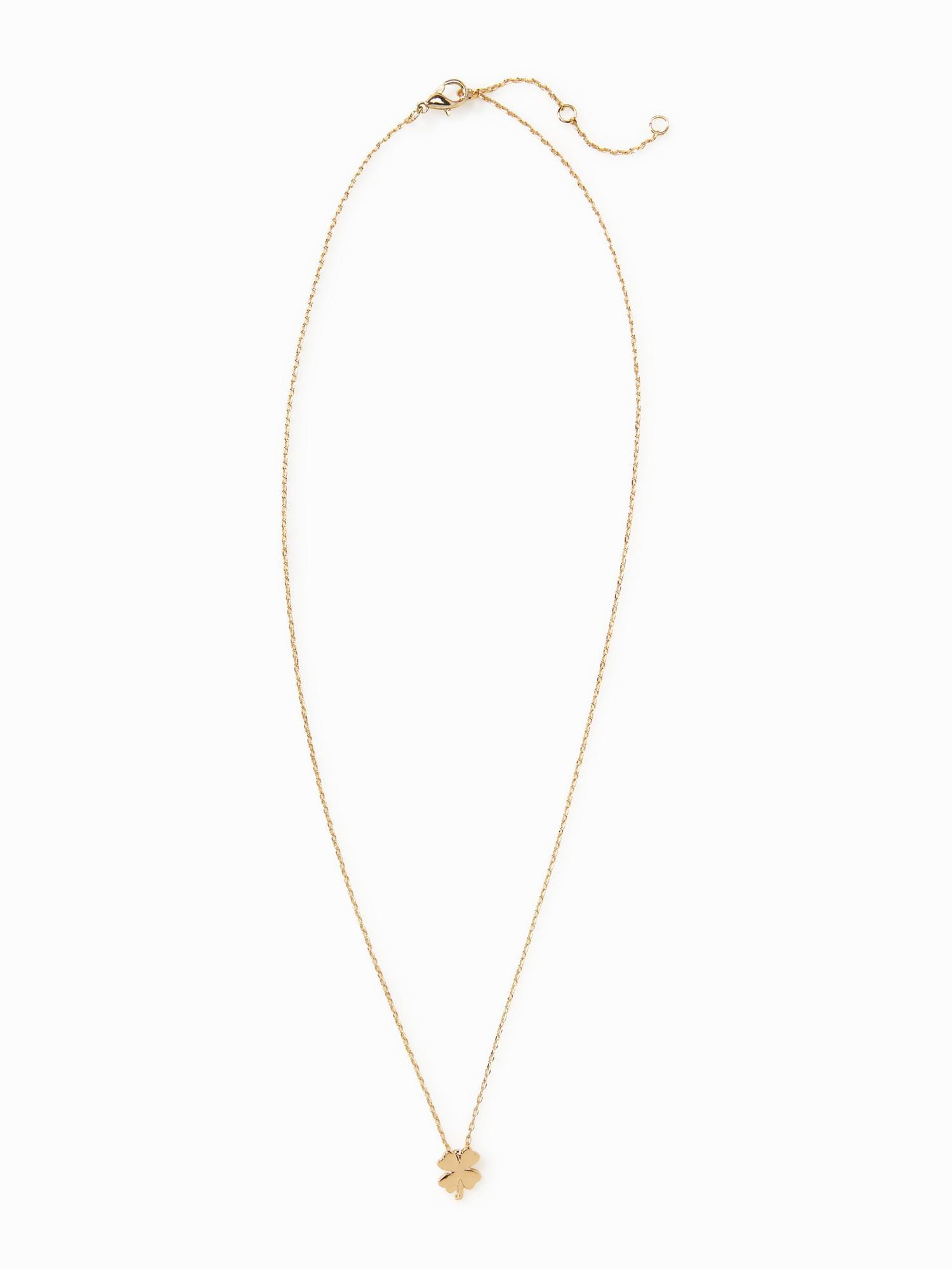 Clover pendant necklace for women old navy clover pendant necklace for women aloadofball Choice Image