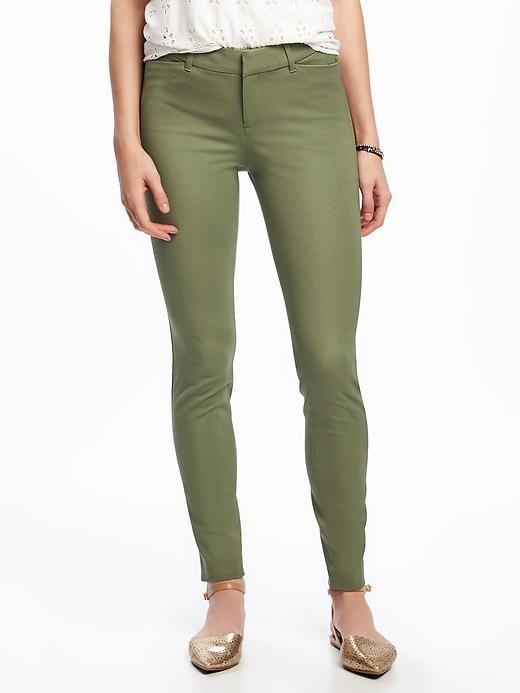 Mid-Rise Pixie Long Pants For Women