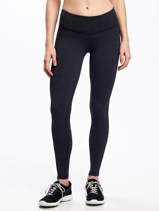 Go Dry Cool Mid Rise Leggings For Women