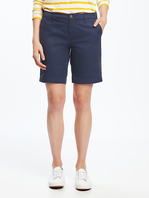 Everyday Twill Shorts For Women