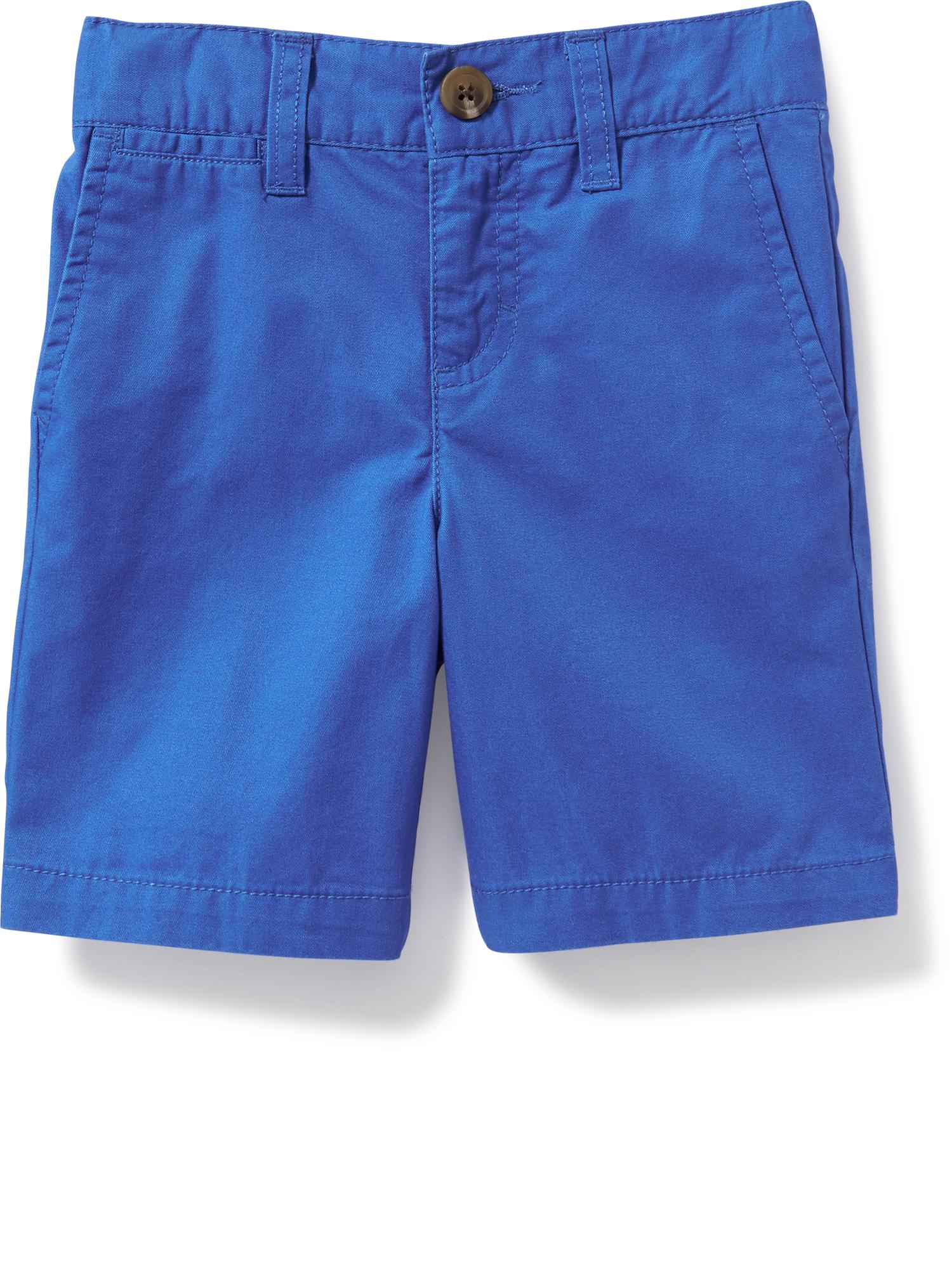 Pop-Color Khaki Shorts for Toddler Boys | Old Navy