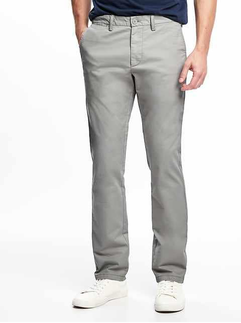 Slim Ultimate Built-In Flex Lightweight Khakis for Men