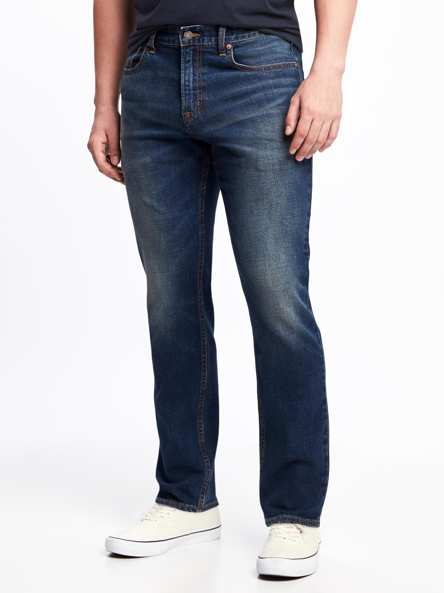 Athletic Built-In Flex Jeans for Men  c3068edc6206
